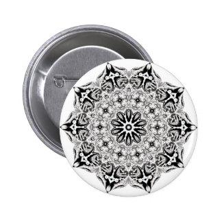 Grays lotus pinback button