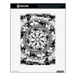 Grayscale Cactus May 2013 NOOK Skins