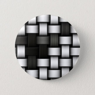 Grayscale knitted background button