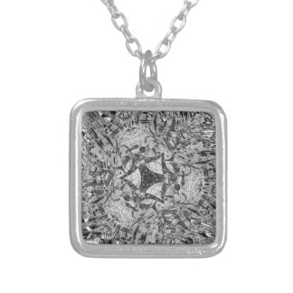 Grayscale Paperclip Feb 2013 Custom Necklace