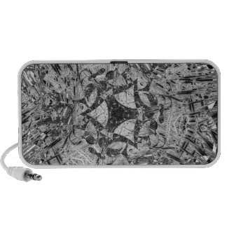 Grayscale Paperclip Feb 2013 iPod Speakers