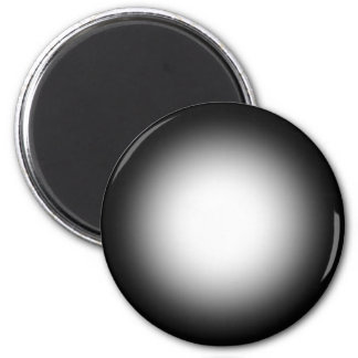 Grayscale Spotlight: Customize This Template! 2 Inch Round Magnet