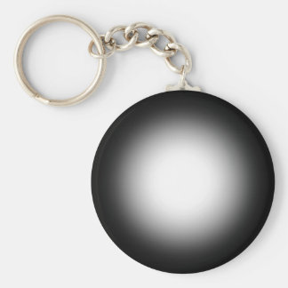 Grayscale Spotlight: Customize This Template! Basic Round Button Keychain