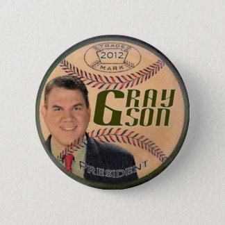 Grayson 2012 Baseball pin