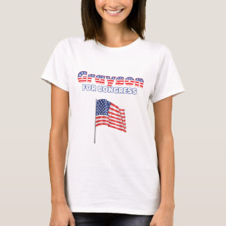 Grayson for Congress Patriotic American Flag T-Shirt