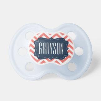 """""""Grayson"""" personalizó el nombre - impresión de Chupetes De Bebe"""