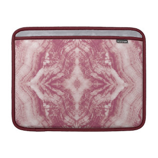 Grayson Wood Textured in Pink MacBook Sleeve