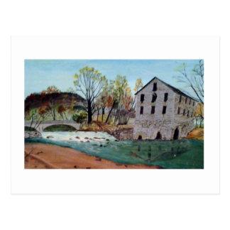 Graysville Mill -Alton Vaughn Postcard