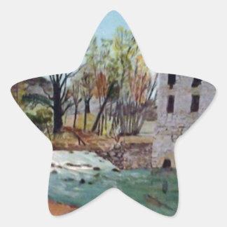 Graysville Mill -Alton Vaughn Star Sticker