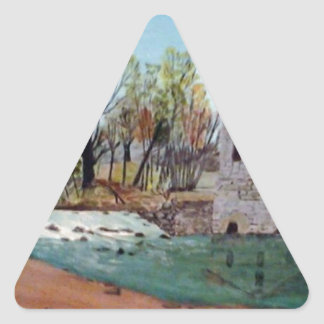 Graysville Mill -Alton Vaughn Triangle Sticker