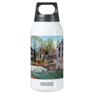 Graysville Mill -Grandpa's painting Insulated Water Bottle