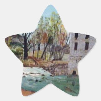 Graysville Mill -Grandpa's painting Star Sticker