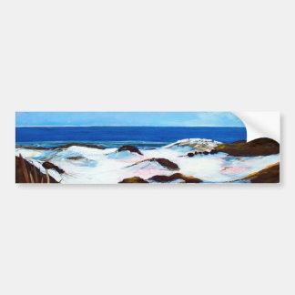 Grayton Dunes  By Patricia Cameron Bumper Sticker