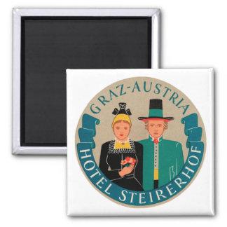 Graz Austria Hotel Steirerhof Magnet