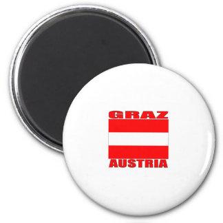 Graz, Austria Imán