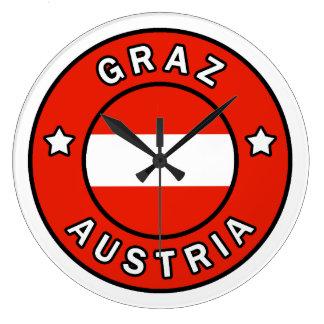 Graz Austria Large Clock