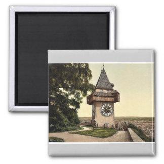 Graz, el reloj, Estiria, Austro-Hungría pH clásico Imanes