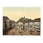 Graz, mercado, obra clásica de Estiria, Austro-Hun Tarjetas Postales