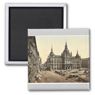 Graz, Palacio de Justicia, obra clásica de Estiria Imanes De Nevera