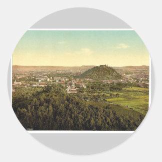 Graz, visión general desde el Rainer Kogel, Estiri Etiqueta