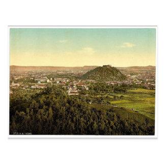 Graz, visión general desde el Rainer Kogel, Estiri Postales
