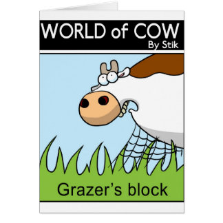 Grazer's Block Card