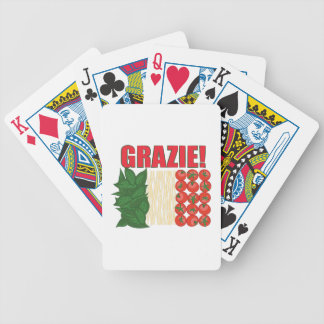 Grazie Bicycle Playing Cards