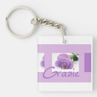 Grazie La Sposa di Sabbia Wedding Favor Keychain