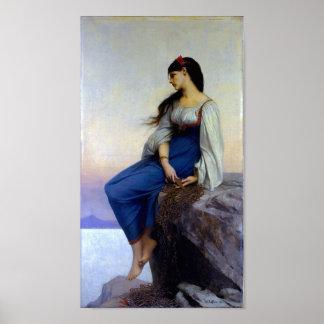 Graziella - Lefebvre (pastoral) ~ Poster
