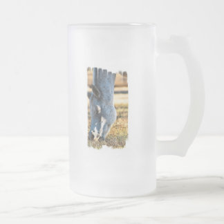 Grazing Appaloosa Frosted Beer Mug