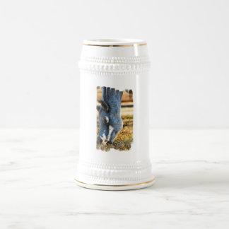 Grazing Appaloosa Horse Beer Stein Mug