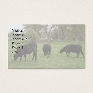 Grazing Cattle v1 Business Card