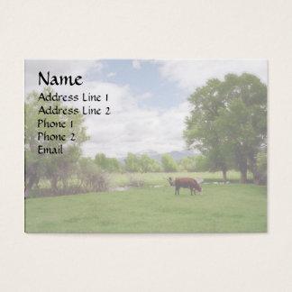 Grazing Cattle v3 Business Card