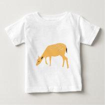 Grazing deer baby T-Shirt