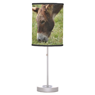 Grazing Donkey Table Lamp