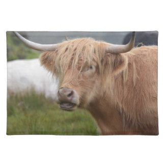 Grazing Highland Cow Place Mats