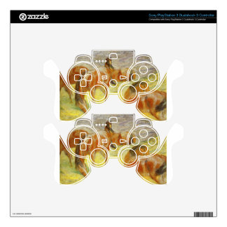Grazing Horses by Franz Marc PS3 Controller Skins