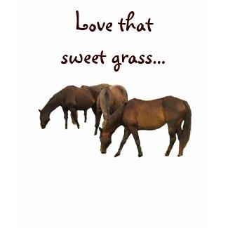 Grazing Horses zazzle_shirt