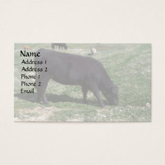 Grazing in May Business Card
