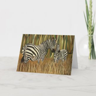 Grazing In The Grass Notecards zazzle_card