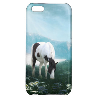 Grazing paint horse case for iPhone 5C