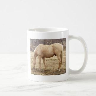 Grazing Palomino Horse Classic White Coffee Mug