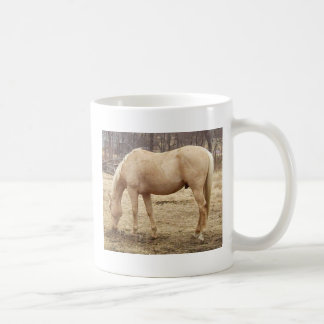 Grazing Palomino Horse Coffee Mug