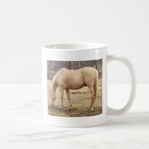 Grazing Palomino Horse Mug