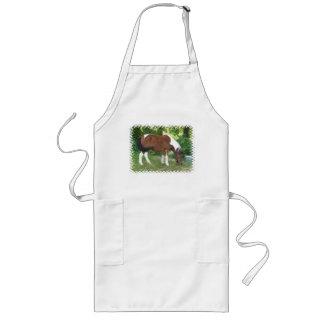 Grazing Pony Long Apron