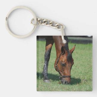 Grazing Quarter Horse Acrylic Keychains