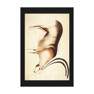Grazing Reindeer', Font-de-Gaume_Art of Antiquity Canvas Print