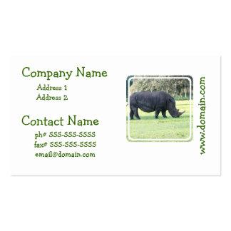 Grazing Rhino Business Cards