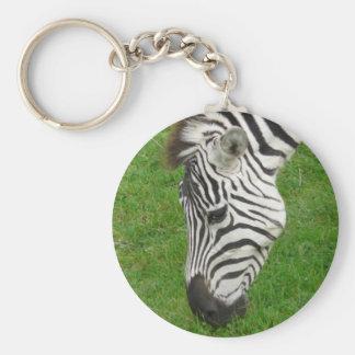 Grazing stripes keychain