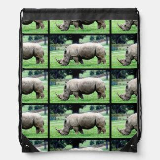 Grazing White Rhino Cinch Bags